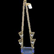 SALE Vintage Czech. Rhinestone Necklace