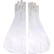 SALE Fabulous Lilly Dache Long Gloves - Mint