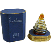 SALE Imprudence - Worth Perfume Bottle and Box