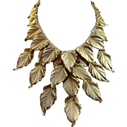 SALE Stunning Napier Necklace - Book Piece