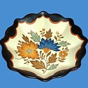 Flora Gouda Dutch Hand Painted Bowl Holland