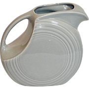 Homer Laughlin Gray Disk Fiesta Pitcher
