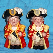 REDUCED Royal Doulton Town Crier Toby Jug # D6920 Limited Edition w/ Cert of Authenticity