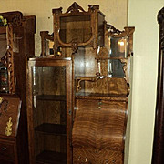 SALE Quarter Sawn Oak Secretary/Bookcase/China Cabinet, ON SALE!