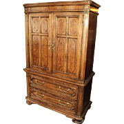 Country French Gentleman's Chest of Drawers by Thomasville
