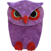 Buba The Owl Pin By French Designer Lea Stein