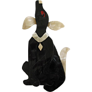 Pouf The Hound Dog Pin By French Designer Lea Stein