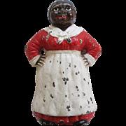Antique Cast Iron Hubley Aunt Jemima Or Mammy Doorstop