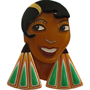 Lido Or Josephine Baker Pin By French Designer Lea Stein