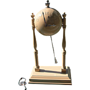 "Gilbert Globe or Ball  Clock 1930's ""Baseball Clock"""