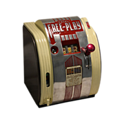 SOLD Daval Free Play 1940's  Trade Stimulator Slot Machine