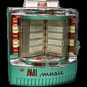SOLD AMI WQ 200 Jukebox Wall Box  1960