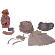 SALE Vintage Barbie Baby Sits Baby and Accessories