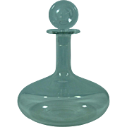"""Baccarat France crystal decanter 10"""" tall"""