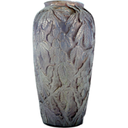 SOLD Large Lilac Colored Phoenix Glass Vase