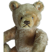"""SOLD FAB 12"""" Steiff Teddy Bear from the 1950's - Red Tag Sale Item"""