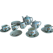 SWEET Complete Vintage Nippon Child's or Dolly's Tea Set
