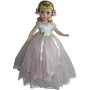 """SOLD OUTSTANDING 14"""" Madame Alexander Strung Rosamund the Bridesmaid Doll"""