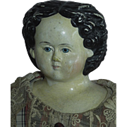 """SALE Grand 22"""" Griener Lady with 1858 Patent Label"""