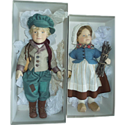 MIB R. John Wright Hans And Gretel Brinker Doll