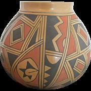 Signed David MATA ORTIZ Mexico SW Art Pottery Jar Vase Pot