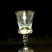 King Gustav III Crystal Stemware Waterglasses, 8 Pieces