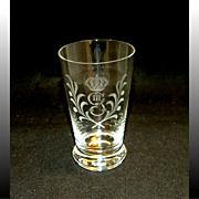 King Gustav III Crystal Tumbler Set, 6 Pieces