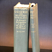 1st Edition Karakoram and Western Himalaya 1909: An Account of the Expedition of H.R ...