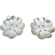 Sterling Silver TIFFANY & Co. Four Leaf Clover 2pc Dish Set