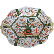 Mason's Ironstone 19th Century Imari Pattern Platter Plate