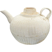 Ancient SONG DYNASTY 960-1279 Small Asian White Ware Glazed Ceramic Tea Pot