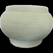 Large 19th Century Chinese Qing Dynasty White Glazed Celadon Vase