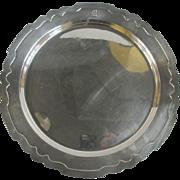 Shreve & Co Sterling Silver Dolores Serving Platter Dish Tray w/M Monogram