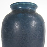 SALE Navy Blue Rookwood Vase