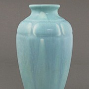 Blue Streaked Rookwood Vase 1821