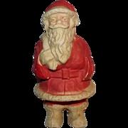 SALE Vintage Paper Mache Santa Claus Candy container decoration
