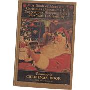 SALE Christmas issue Dennison's Christmas Book hardcover Dennison Company 1926 Santa Cover N