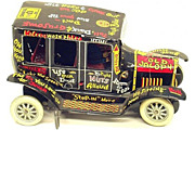 "SALE MARX Lithographed Tin ""Old Jalopy"" Toy Automobile"