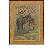 """REDUCED Vintage Children's game """"Picture Lotto"""" - USA 19th Century Beautiful"""