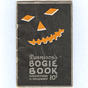 REDUCED 1922 Annual Edition Dennison's Bogie Book Halloween collectable