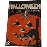 SALE Dennison's The Halloween Book party magazine 1933 Halloween with Mickey Mouse issue!