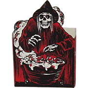 REDUCED Scary Witch Candy box Signed & Numbered 10 of 20 Shiverbones Halloween themed Artist