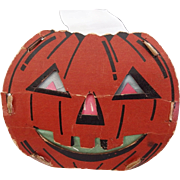 SALE Small size Dual sided Jack O Lantern Pumpkin Face slot and tab lantern USA ...