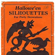 "SALE ""Envelope of Halloween Silhouettes"" Beistle Company, Diamond mark - USA   1925 – .."