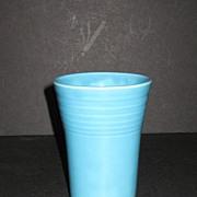 Vintage Fiesta Turquoise Water Tumbler
