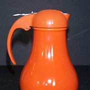 Vintage Fiesta Syrup in Red