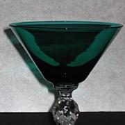 Morgantown Roanoke Saucer Champagne Glass