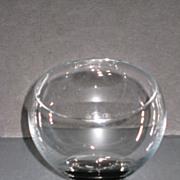 Morgantown Oddball Old Fashioned Glass