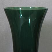 Tiffin Killarney Green Flared Vase #17430