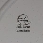 """Jack Straw Constellation 11 ½"""" Platter"""